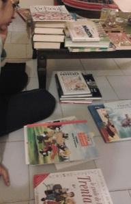 Books by the kilo !