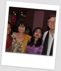Avec ma chère Nisha Seshan, Dominique Abry  et Jean-Pierre Cuq.