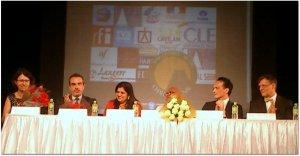La cérémonie d'ouverture au Chinmaya Heritage Center, Chennai