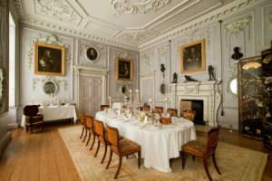 The Dining Room at Felbrigg Hall, Norfolk.(Image Courtesy National Trust House)