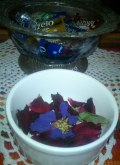 Bowl and flowers