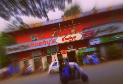 Koshy's seen from the corner of Church Street.