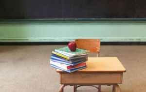 Desk & Classroom